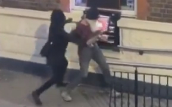WATCH: Man Gets Robbed In Broad Daylight At An ATM While People Just Watch!